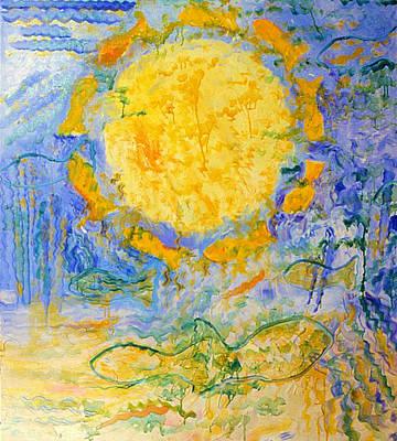 Painting - Solar Fish by Nancy Wait