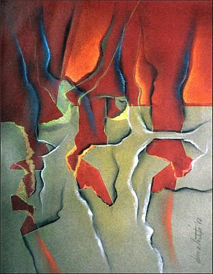 Pastel - Solar Flare 1982 by Glenn Bautista