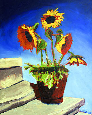 Complimentary Painting - Sold Thermonuclear Flowers by Charlie Spear