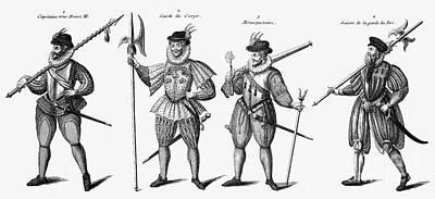 Soldiers, 16th Century Art Print