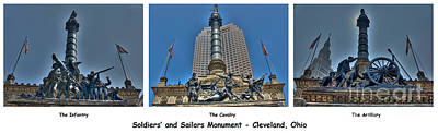 Photograph - Soldiers' And Sailors' Monument by David Bearden