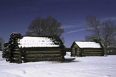 Revolutionery War Photograph - Soldiers Huts Historical Place by Sally Weigand