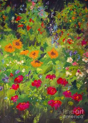 Solebury Garden Art Print