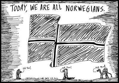 Solidarity With Our Norse Brethren Original by Yasha Harari