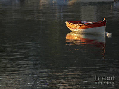 Photograph - Solitary Boat by Mary Attard