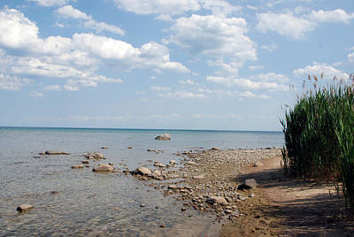 Michigan Port Sanilac Photograph - Solitude by Dawn Dasharion