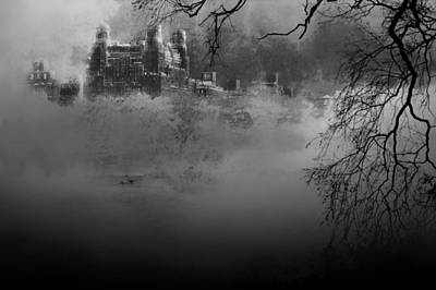 Solitude In Central Park Art Print by Jeff Burgess