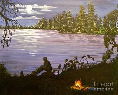 Solitude Art Print by Lisa Golem