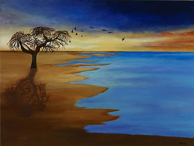 Painting - Solitude by Michelle Joseph-Long