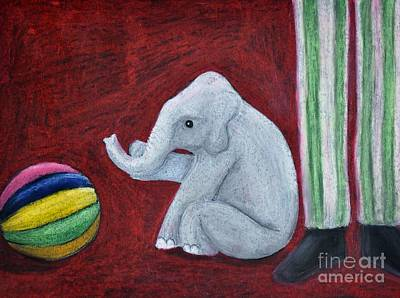 Pastel - Sols Elephant by Reb Frost