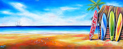 Painting - Solway Sailing by Deb Broughton