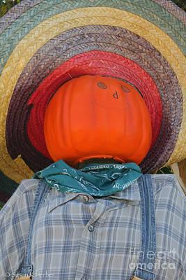 Photograph - Sombrero Scarecrow by Susan Herber