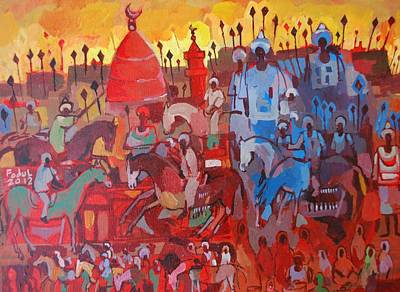 Some Of The History1 Print by Mohamed Fadul