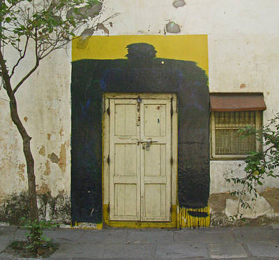 Art Print featuring the photograph Somebody's Door by David Pantuso