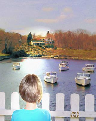 Digital Art - Someday by Richard Stevens