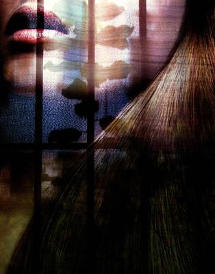 Someone Behind Print by Claudia Boeckelmann