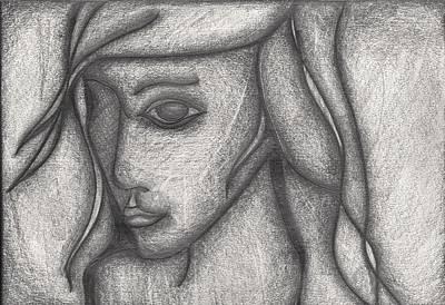 Someone I Knew Art Print by Daniel Libby