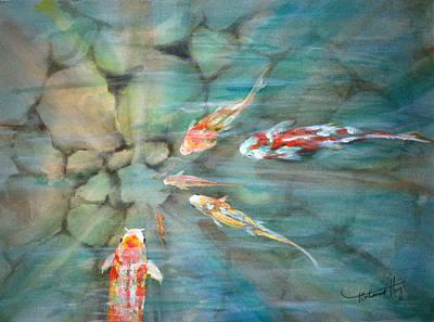 Something Fishy Art Print by Mohamed Hirji