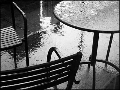 Sometimes It Rains Art Print by Anne McDonald