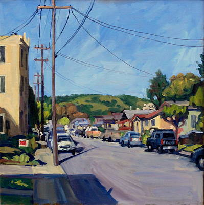 San Leandro Painting - Somewhere In California by Thor Wickstrom