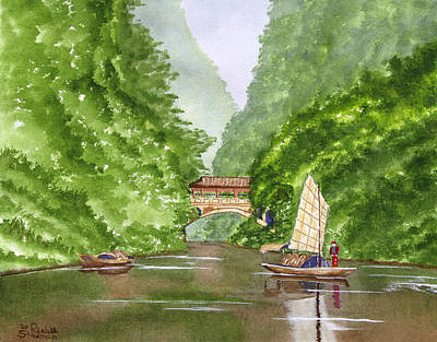 Painting - Somewhere In China by Rich Stedman