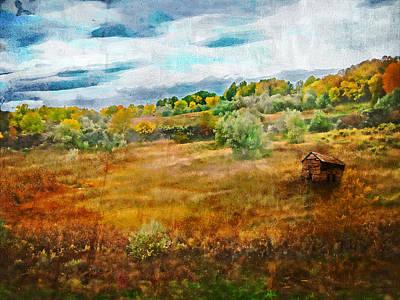 Somewhere In September Art Print