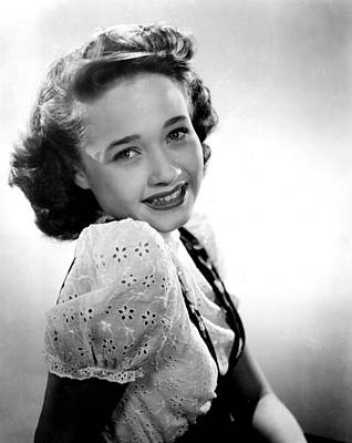 Publicity Shot Photograph - Song Of The Open Road, Jane Powell, 1944 by Everett