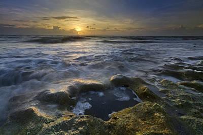 Song Of The Sea Art Print by Debra and Dave Vanderlaan