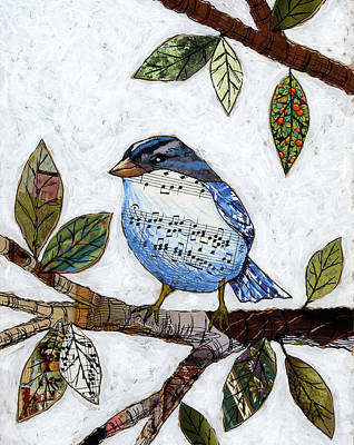 Songbird Art Print by Amy Giacomelli
