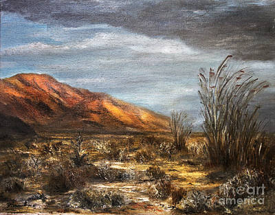 Sonora Painting - Sonora Desert by Danuta Bennett