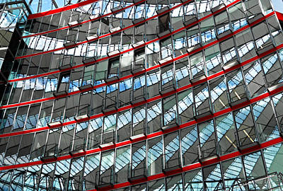 Photograph - Sony Center - Berlin by Juergen Weiss