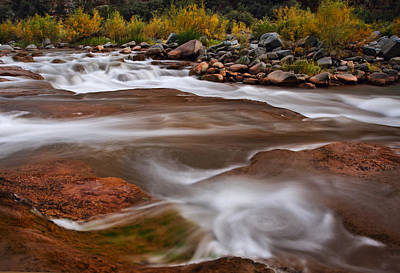 Photograph - Soothing Waters Of The Salt River 4 by Dave Dilli