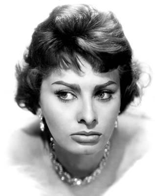 Sophia Loren, Portrait From 1959 Art Print by Everett