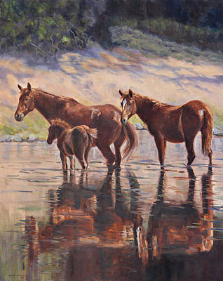 Painting - Sorrel Reflections by Karen McLain