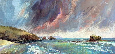 Painting - Sorrento Storm by Pamela Pretty