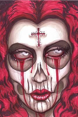 Sorrow Art Print by Shayne of the  Dead