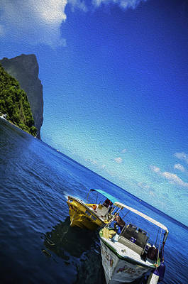 Photograph - Soufriere Bay by Daniel Marcion
