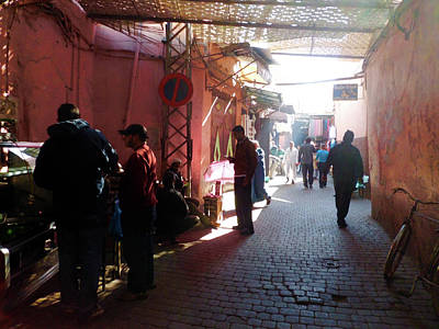Souk In Marrakesh 01 Art Print