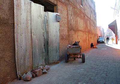 Moroccan Photograph - Souk In Marrakesh 07 by Miki De Goodaboom