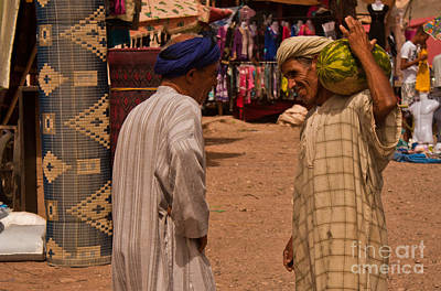 Photograph - Souk by Nabucodonosor Perez