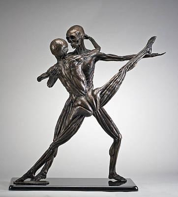 Soul Dance - Front View Art Print by Eduardo Gomez