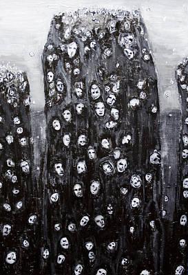 Soul Groups Art Print by Kazuya Akimoto