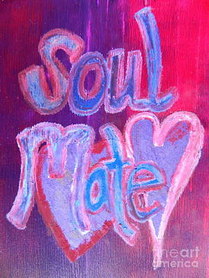 Painting - Soul Mate by Kat Kemm