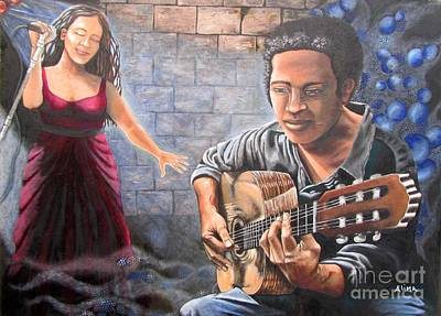 Painting - Soul Music by Alima Newton