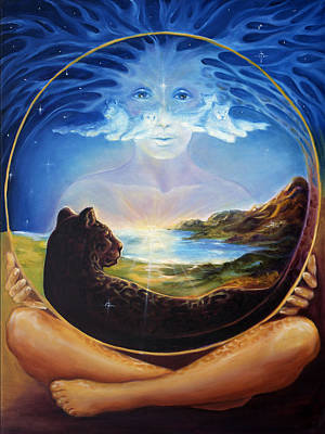 Soul Of Creation Art Print by Ann Beeching