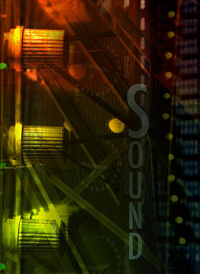 Processor Digital Art - Sound by Affini Woodley