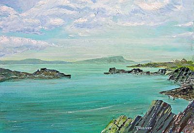 Scotland Painting - Sound Of Shuna by Peter Tarrant