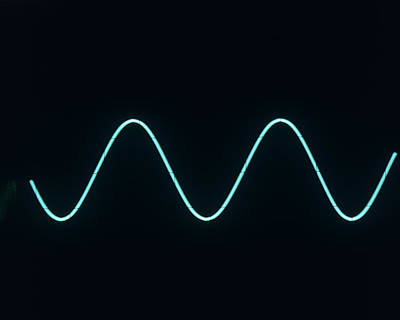 Sound Wave Art Print by Andrew Lambert Photography