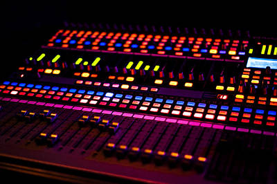 Photograph - Soundboard by Anthony Citro