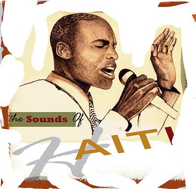 Sounds Of Haiti Art Print by Bob Salo